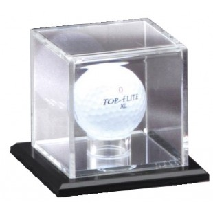 Mirrored Golf Display Case