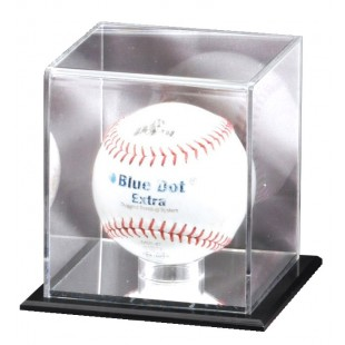 Mirrored Softball Display Case