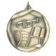 "Band 2-1/4"" Die Cast Medal"