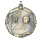 "Basketball 2-1/4"" Die Cast Medal"
