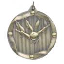 """Bowling 2-1/4"""" Die Cast Medal"""