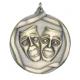 """Drama 2-1/4"""" Die Cast Medal"""