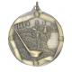 """Golf 2-1/4"""" Die Cast Medal"""