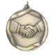 """Hand Shake 2-1/4"""" Die Cast Medal"""