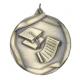 """Scholastic 2-1/4"""" Die Cast Medal"""