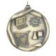 """Science 2-1/4"""" Die Cast Medal"""