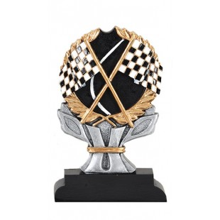 Racing Resin Sculpture