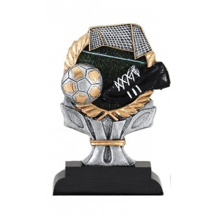 Soccer Resin Sculpture