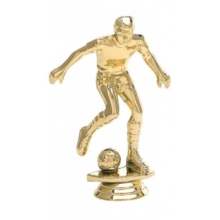 Soccer Player- Male (Round)
