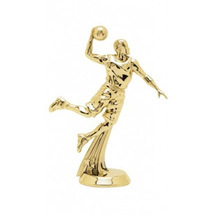 All-Star Basketball Player- Male (Round)