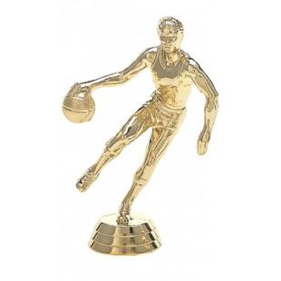 Action Basketball Player- Male (Round)
