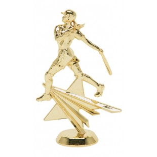 Star Figure Softball Player (Round)