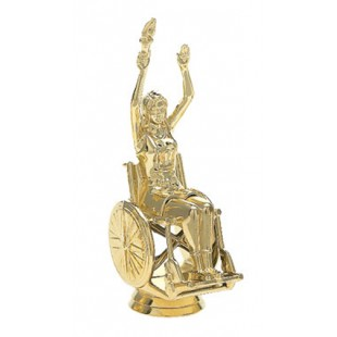 Wheelchair Victory- Female (Square)