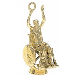 Wheelchair Victory- Male (Round)